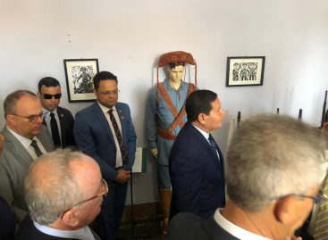 Já em Sergipe, vice-presidente Mourão visita conjunto arquitetônico de São Cristóvão
