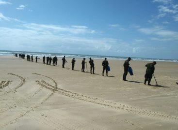 PMA recebe Exército Brasileiro para contribuir com a limpeza das praias aracajuanas