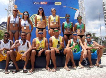 Sergipanos são vice-campeões do Brasileiro sub-21 de vôlei de praia