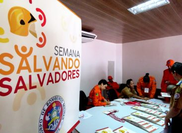 Inscrições abertas para a 2ª edição da Semana Salvando Salvadores