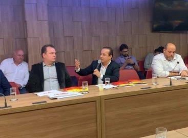 Valadares Filho participa de reunião do conselho de presidentes estaduais do PSB