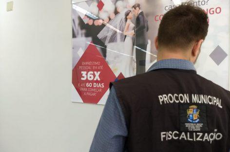 Prefeitura de Aracaju fiscaliza correspondentes bancários na capital