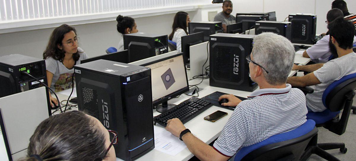 SergipeTec realiza cursos e serviços de Modelagem e Impressão em 3D