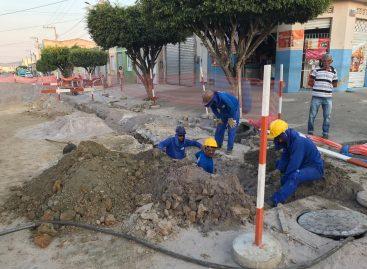 Itabaiana: 30% das obras de drenagem e esgotamento já foram concluídas