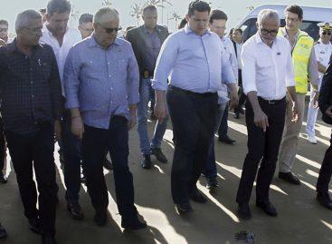 Em Sergipe, Alcolumbre anuncia apoio para combate às manchas no litoral