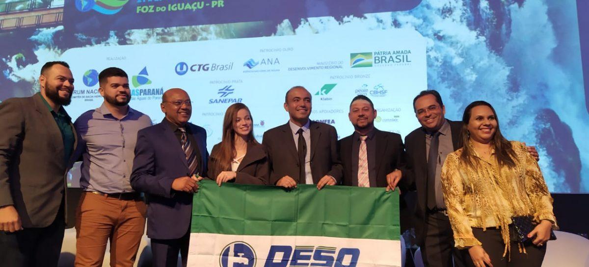 Trabalho sergipano é destaque no XXI Encontro Nacional de Comitês de Bacias Hidrográficas
