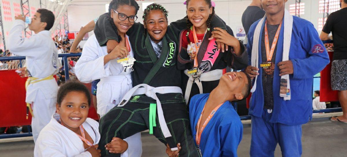Jovens assistidos em Cras de Aracaju são destaque em Circuito de Jiu-Jitsu
