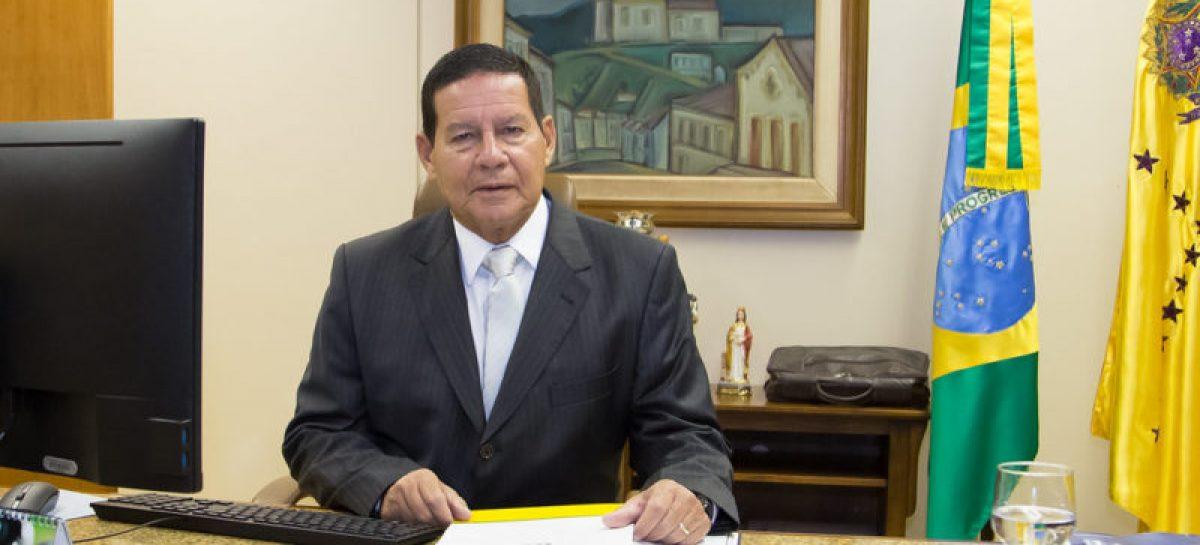 Vice-presidente do Brasil, general Mourão, receberá a maior honraria da Alese