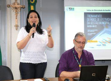 TCE treina servidores de oito municípios em capacitação sobre o IEGM