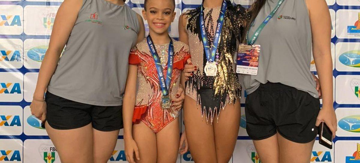 Ginastas sergipanas conquistam medalha de prata no Campeonato Brasileiro