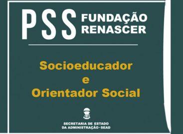 Abertas as inscrições para novo PSS da Fundação Renascer