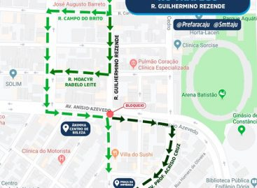 Prefeitura interdita pontilhão da rua Guilhermino Rezende para obra de reconstrução