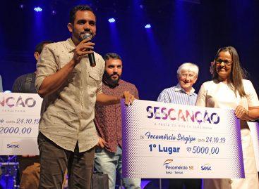 Sergipanidade é celebrada na final do Sescanção 2019
