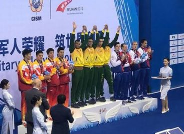 Brasil garante 3º lugar geral nos Jogos Mundiais Militares