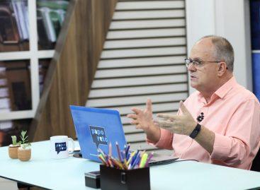 """Belivaldo Chagas: """"busque quem inchou o estado entre os anos de 1980 e 1990"""""""