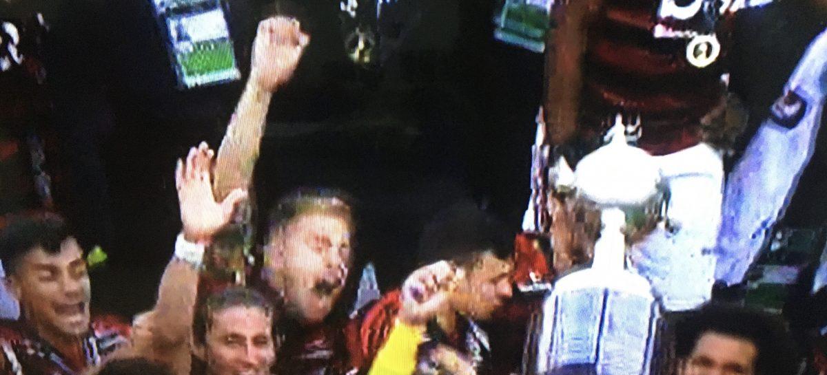 Flamengo é bicampeão da Libertadores e o Brasil faz a festa