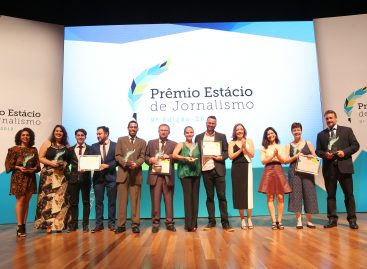Prêmio Estácio de Jornalismo em 2019 já tem vencedores