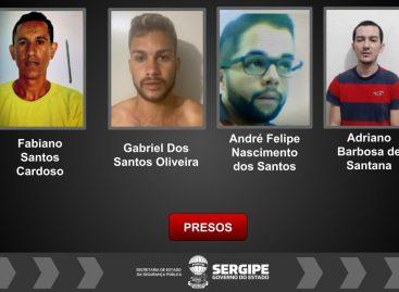 DHPP e Dipol prendem quatro homens suspeitos de matarem motorista de aplicativo
