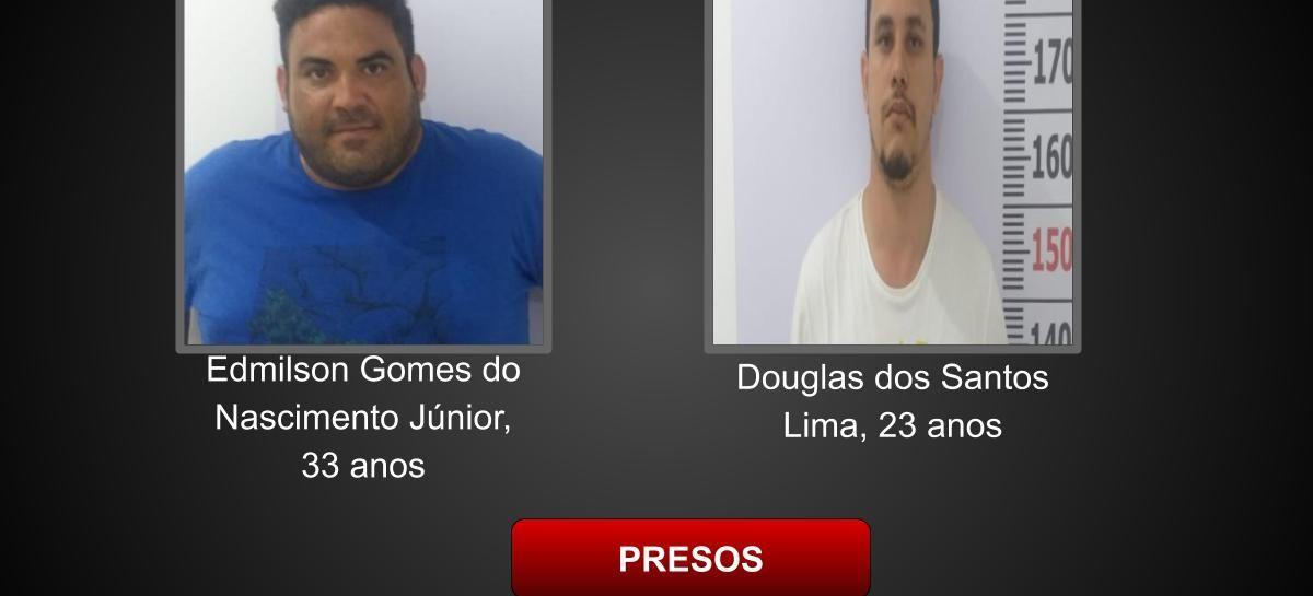 Denarc prende dupla com mais de 120 kg de maconha no Luzia