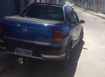 Tático troca tiros com suspeitos e recupera veículo roubado no Santa Maria