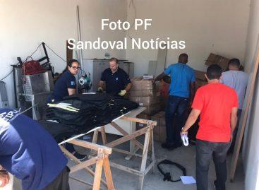Polícia Federal destrói cerca de dois mil coletes balísticos com validade vencida