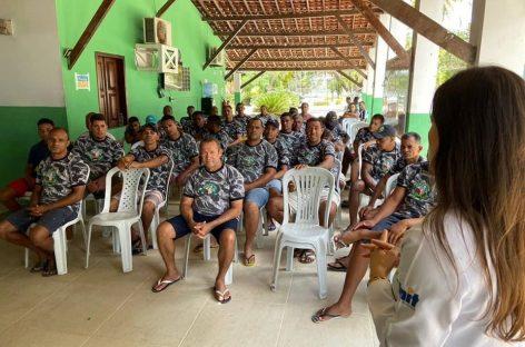 Batalhão da Restauração faz palestra sobre cuidados com a saúde do homem