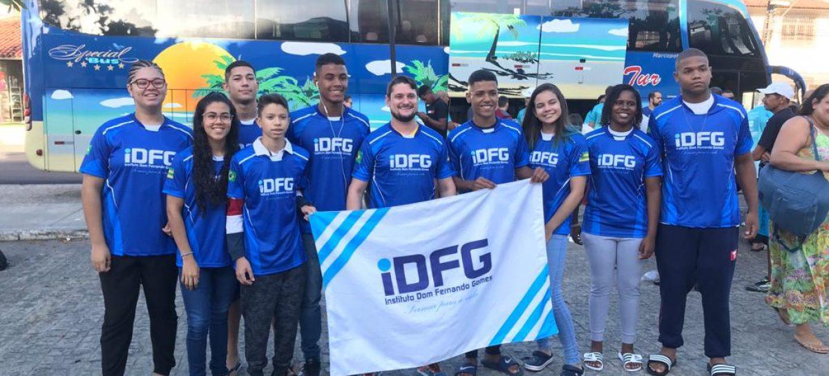 Delegação Sergipana embarca rumo a Blumenau para os Jogos Escolares