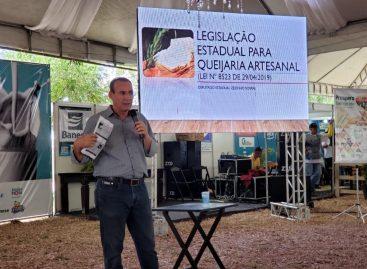 Zezinho Sobral explana sobre a Lei das Queijarias para produtores de Glória