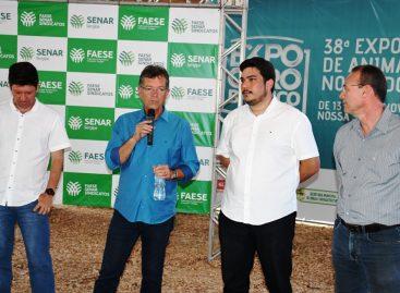 Laércio fala como o AgroNordeste vai estimular a geração de empregos na região de Glória