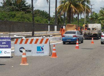 Sergas realiza obra de ampliação de rede na Farolância em Aracaju