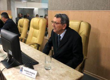 Vereador retorna aos trabalhos legislativos da Câmara de Aracaju