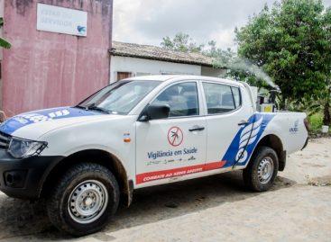 Carro fumacê complementa ações do Governo no combate ao Aedes Aegypti