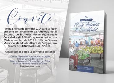 III Encontro de Escritores Monte-alegrenses & Convidados comemorará a Emancipação Política de Monte Alegre