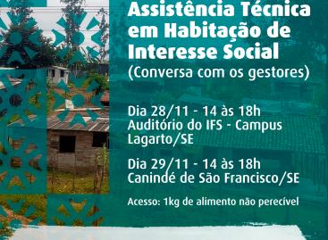 CAU/SE realiza Encontro de ATHIS com gestores municipais de Lagarto e Canindé