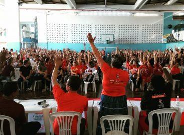 Professores da rede estadual decidem manter a greve e vigília na ALESE