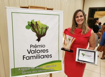 Defensor na sua Comunidade recebe o Prêmio Valores Familiares