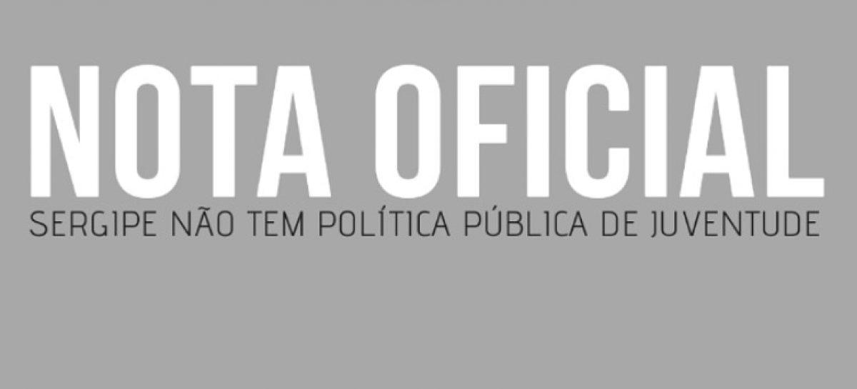 Em nota, Conselho diz que Sergipe não tem política de juventude