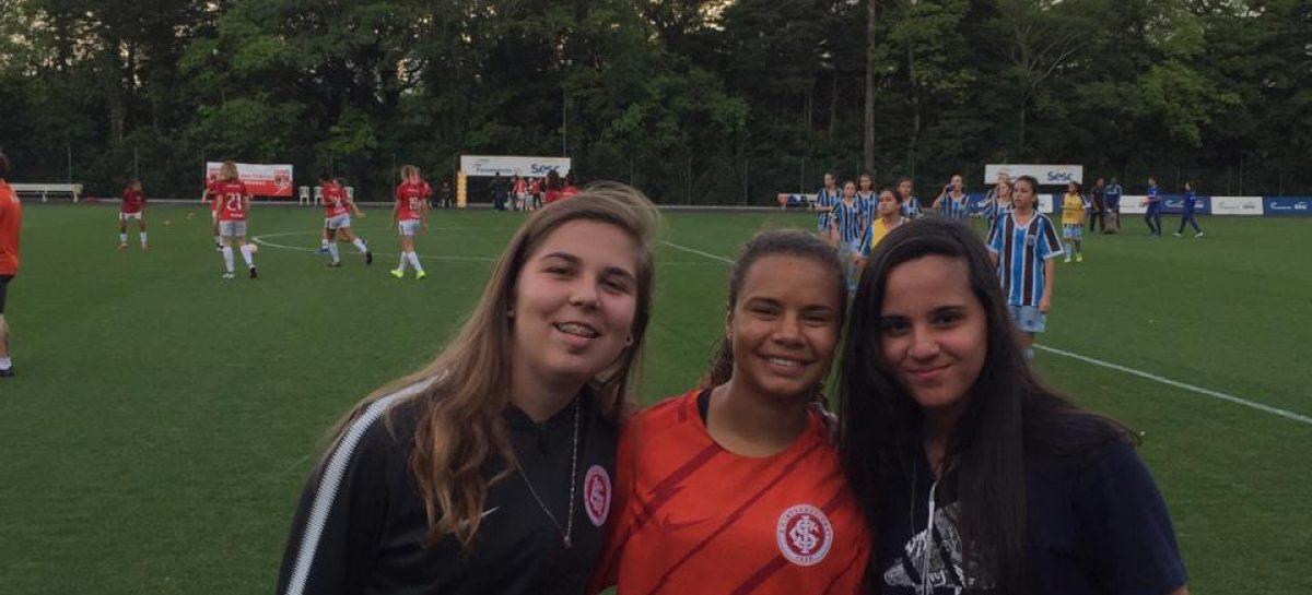 Maria Eduarda, uma estrela do futebol feminino sergipano, agora brilhando lá fora
