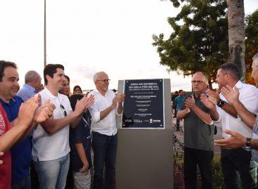 Prefeitura e Governo do Estado entregam reforma da Orla Pôr do Sol