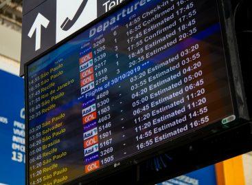 Fluxo de passageiros aumenta após início dos novos voos em Aracaju
