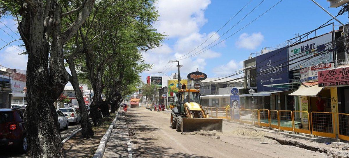 Asfáltico: avenida Hermes Fontes continua com binário nesta segunda, 30