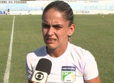 Árbitra de futebol de Sergipe vai apitar o jogo Brasil e México