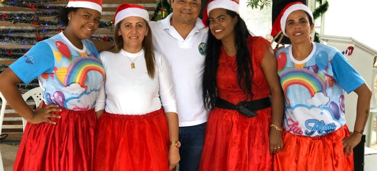 Batalhão da Restauração faz festa de natal para residentes e seus familiares