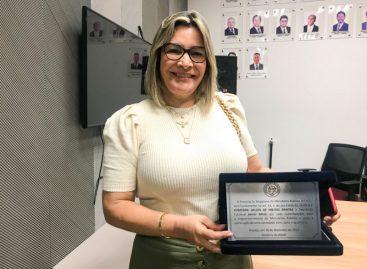 Janier Mota é homenageada pela Associação Sergipana do Ministério Público