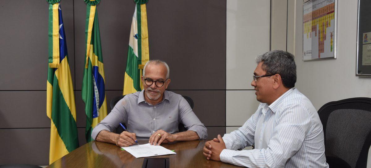 Prefeito Edvaldo sanciona a lei para a PPP da iluminação