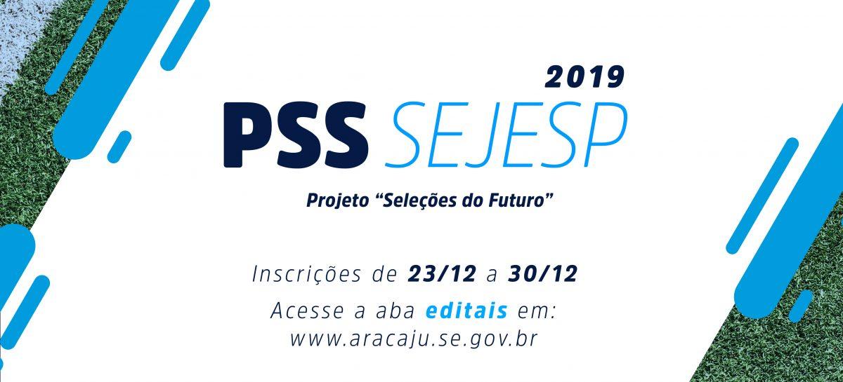 Inscrições para PSS da Secretaria da Juventude e Esporte estão abertas a partir desta segunda