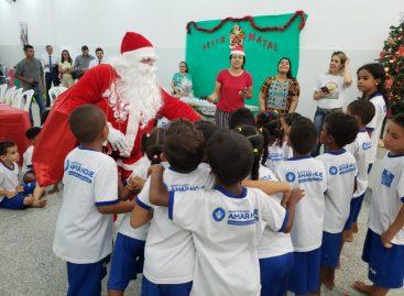 Defensores da Alegria realizam Natal Solidário para dezenas de crianças carentes