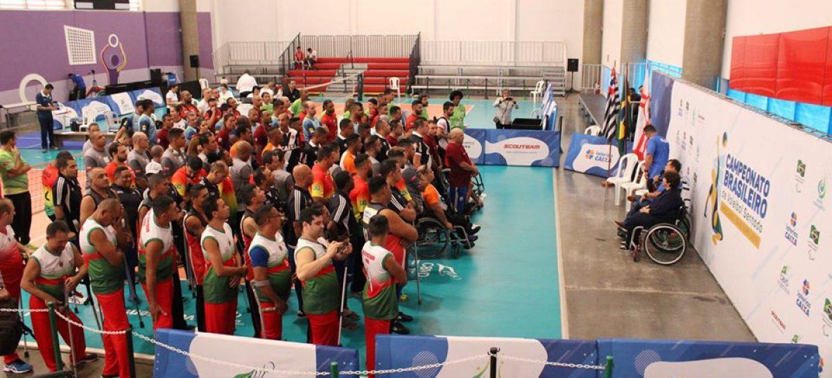 Começa segunda, 9, o Campeonato Brasileiro de Vôlei Sentado – Série Ouro