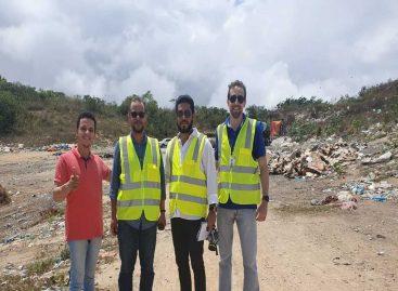 Núcleo de Engenharia do Cpac realiza visita técnica ao lixão de Campo do Brito