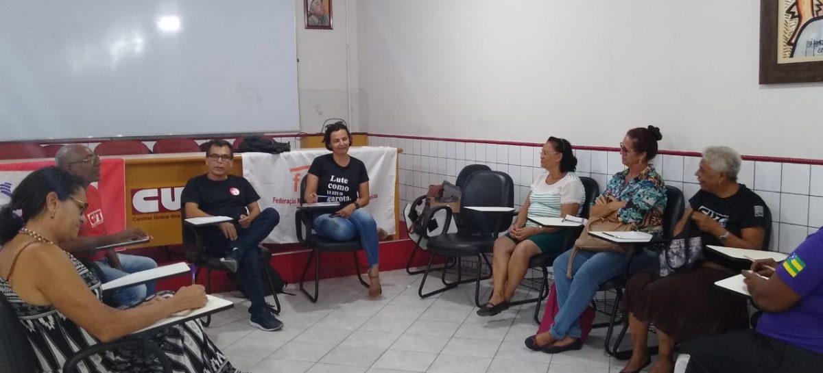CUT/SE discute organização de trabalhadores informais